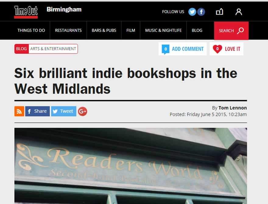 bookshops-west-midlands