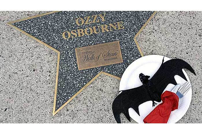 Ozzy Osbourne Broad Street Star - photo by Tom Lennon