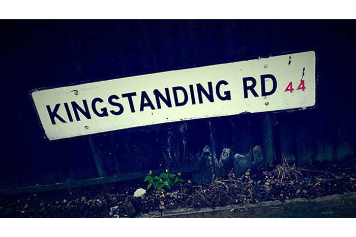 Kingstanding Road sign - photo by Tom Lennon