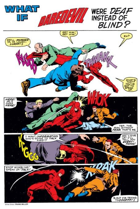 Marvel/Art: Frank Miller