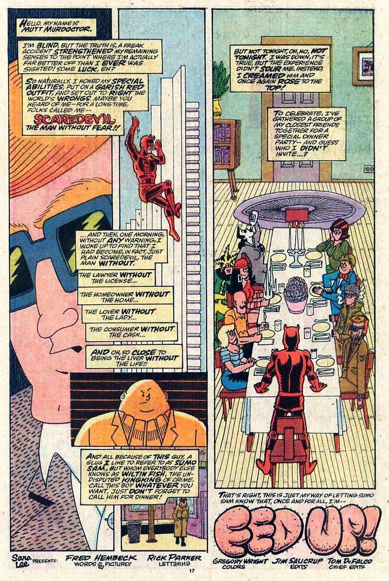 Marvel/Art: Fred Hembeck